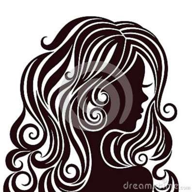 silhueta-de-uma-jovem-senhora-com-cabelo-luxuoso-28240681