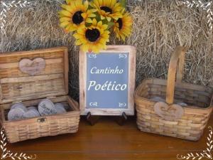 cesto para cantinho poético