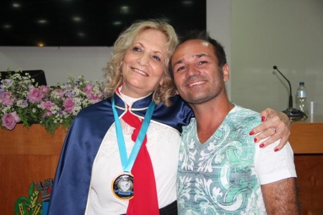 Alda Alves Barbosa e Valdinei Carvalho