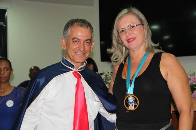 Geraldo Magela da Cruz e Fátima Ribeiro