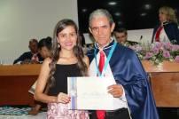 Membros 01 - Alberto Tadeu M. Ferreira e sua filha Lídia